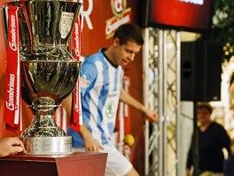 Exhibici s footbagem v rámci Trophy Tour předvedl Jan Weber.