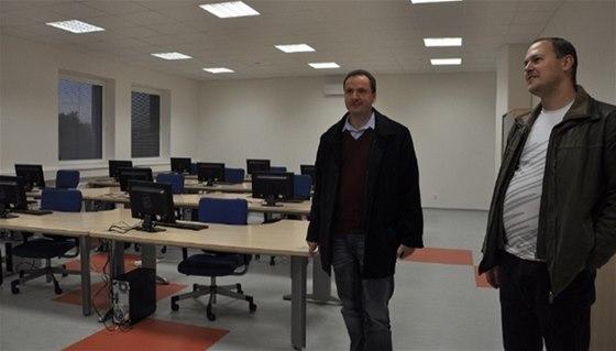 Firma BRITEX-CZ otev�ela nov� modern� �kolic� st�edisko
