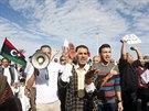 Při střetu milice s demonstranty v Tripolisu zemřelo 27 lidí (15. listopadu)