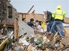 Zřejmě nejvíce tornádo zdevastovalo město Washington ve státě Illinois (17....