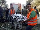 K útoku se zatím nikdo nepřihlásil, nicméně podezření padá na syrské povstalce,...