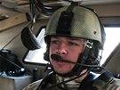 Čeští vojáci na patrole v okolí základny Bagrám v Afghánistánu