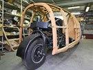 Jedno kolo vzadu, dvě vpředu - to je aerodynamický vůz Dymaxion ze třicátých