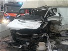 Dod�vka Fiat Ducato po nehod�. (13. listopadu 2013)