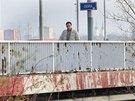 Most přes Odru v Ostravě-Nové Vsi přišel o důležité kovové součásti.