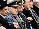Veteránů druhé světové války v České republice žije zhruba 1 200. (11. 11. 2013)