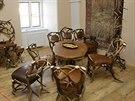 Nová expozice věnovaná Emmě Destinové zaplnila dvě místnosti v prvním patře...