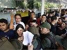 Prezident Nicolás Maduro svým zásahem do cenové politiky obchodního řetězce