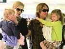Nicole Kidmanová s rodinou