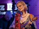 Ze křtu alba Ivy Pazderkové Ukulala v pražském klubu Jazz Dock