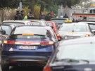 Policisté v ulici Pod Vrchem vyšetřují brutální útok na mladou ženu.