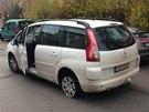 Vůz byl jeho majiteli odcizen ve středočeských Milovicích předešlý den večer.