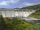 Vizualizace nové přehrady
