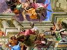 2. Chrám svatého Ignáce a pokračování nástropní fresky - tentokrát jde o šíření...