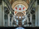 6. Známý dóm v Salzburgu je z let 1624-1628, navrhl ho Santino Solari. Štuková...