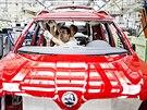 Závod Škoda Auto v Kvasinách začal s výrobou modernizovaného modelu Yeti...