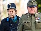 Na Dnu válečných veteránů v Hradci Králové nechyběli členové vojenských...