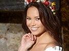 Česká Miss Earth 2013 Monika Leová