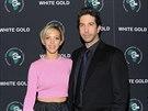 David Schwimmer a jeho manželka Zoe Buckmanová (12. listopadu 2013)
