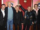 Monty Python: Michael Palin, John Cleese, Terry Jones, Terry Gilliam a Eric...