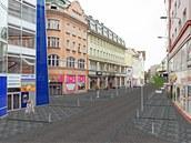 Tak by už příští rok mohla vypadat ulice 28. října v centru Ostravy. Nová cesta