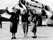 V roce 1937 se na palubách SM.73 objevily první letušky ČSA. A tou první byla...