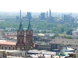 Ostravské panoráma objektivem Martina Straky, jehož fotografie z velké části