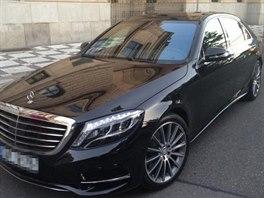 Odcizený luxusní vůz
