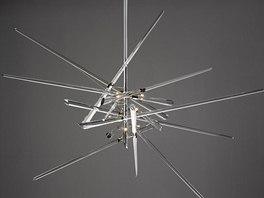 Nestor českého skla René Roubíček (narozen 1922) navrhl pro Lasvit svítidlo And Why Not! Poprvé bylo představeno na veletrhu Euroluce v Miláně v roce 2013.