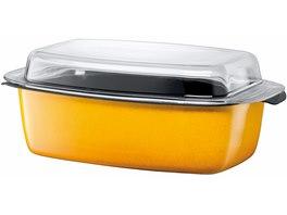 Pekáč se skleněnou poklicí Crazy Yellow Silit v ceně 3 849 Kč