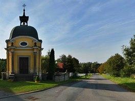 Kaplička Nejsvětějšího srdce Pána Ježíše z roku 1901 v Kutříně.