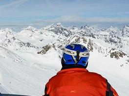 Vyhl�dka z Hinterer Brunnenkogel (3 440 m)