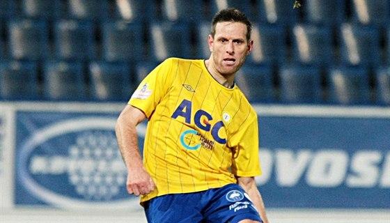 Teplický fotbalista Štěpán Vachoušek