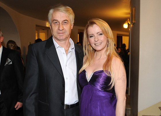 Iveta Barto�ov� a Josef Rycht�� (�esk� slav�k 2013)