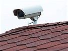 Okolí vily Romana Housky bylo plné bezpečnostních kamer.