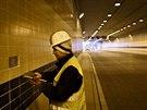 Obložení tunelu Blanka bude tvořit celkem 2,5 milionu kachliček