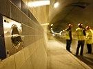 Tunelov� komplex Blanka je t�sn� p�ed dokon�en�m