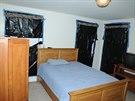 Snímek pokoje Adama Lanzy.