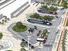 Na obrázcích vypadají úpravy okolí pardubického nádraží skvěle. Teď jde o to,...
