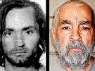 Charles Manson na snímcích z roku 1969 a 2009