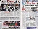 Uprchlý český podnikatel Radovan Krejčíř ovládl 26. listopadu titulní stránky...