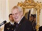 Prezident Milo� Zeman jmenoval �stavn�ho soudce Radovana Such�nka (26....