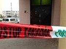 Policie prošetřuje okolnosti střelby v hořovické herně, při níž přišel o život...