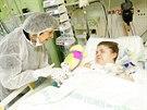 Třicetiletá Lenka Pavelková je na lůžku v ARO oddělení sokolovské nemocnice. Po...