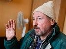 Jeden z klientů poradenského centra pro lidi bez domova v Armádě spásy