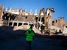 Demolice bývalé textilky Tepna v Náchodě
