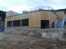 Nová samoobslužná restaurace alpského typu s terasou a výhledem v Herlíkovicích