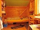 Dětský pokoj v podkroví slamáku