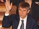 Poslanci hnutí ANO kolem svého šéfa Andreje Babiše hlasují jako jeden muž.