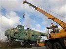 Do olomouckého leteckého muzea v Neředíně přivezli nové exponáty. Hlavním...